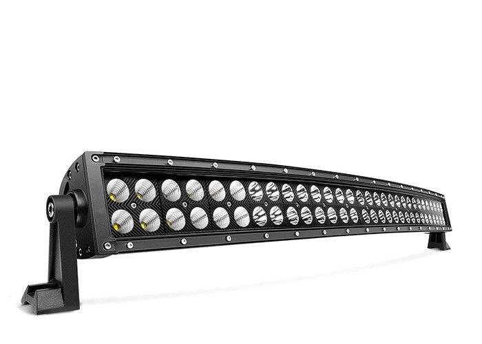 32 Inch Curved LED Light Bar , Led Off Road Driving Lights Input DC 9V-36V